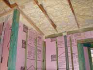 Insulating the attic roof line offers significant energy savings